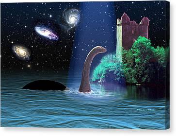 Loch Ness 2 Canvas Print