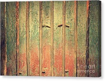Locked And Abandoned - 4 Canvas Print