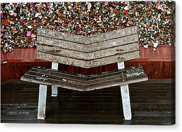 Canvas Print featuring the photograph Locks Of Love 2 by Kume Bryant