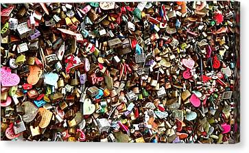 Canvas Print featuring the photograph Locks Of Love by Kume Bryant