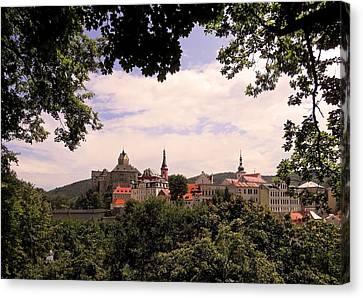 Canvas Print featuring the photograph Loket - Czech Republic by Juergen Weiss