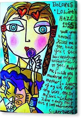 Lolita Canvas Print by Sandra Silberzweig