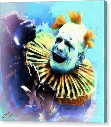 Lon Chaney Canvas Print by Arne Hansen