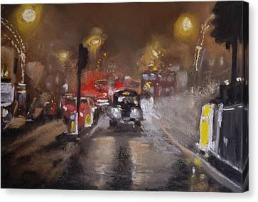 London Fog 1 Canvas Print by Paul Mitchell