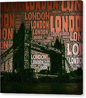#london Just London Canvas Print by Ozan Goren