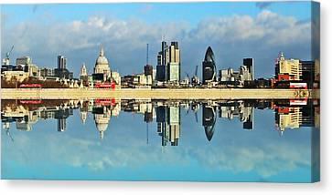 London Skyline Canvas Print by Sharon Lisa Clarke