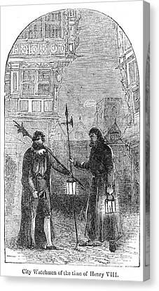 London: Watchman Canvas Print