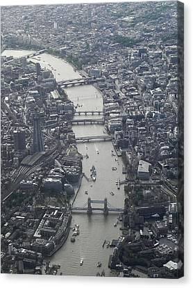 Londres, London Canvas Print