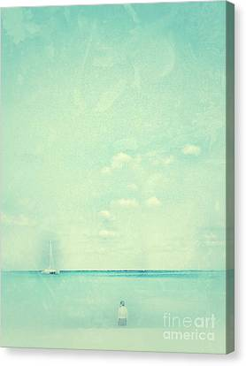 Lone Figure Canvas Print by Diana Riukas