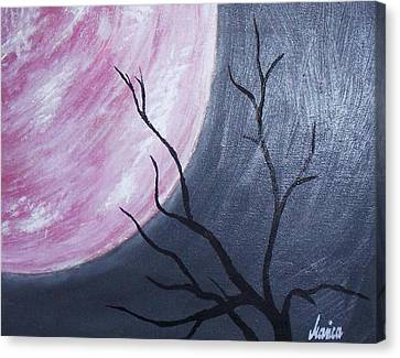 Lonely Night Canvas Print by Marianna Mills