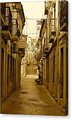 Lonely Street Canvas Print