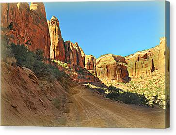 Long Canyon 1 Canvas Print by Marty Koch