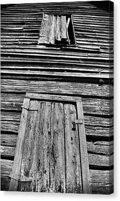 Long Tall Barn Canvas Print by Greg Sharpe