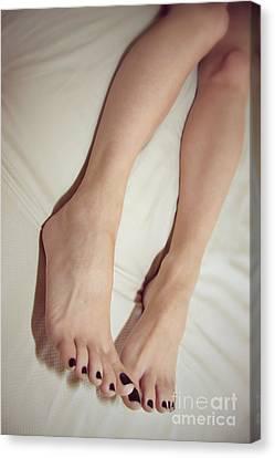 Long Toe Lover Canvas Print by Tos Photos
