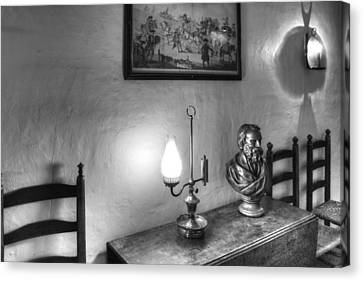 Longfellows Wayside Inn Canvas Print by Lee Fortier