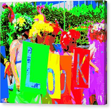 Diversity Canvas Print - Look by Randall Weidner