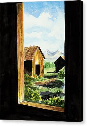 Lookin Out Canvas Print
