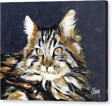 Looking At Me? Canvas Print