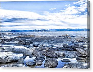 Hornby Island Canvas Print - Looking From Hornby Is, Bc by Shari Whittaker