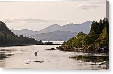 Looking To The Isle Of Mull Canvas Print