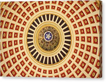 Looking Up Canvas Print by Ricky Barnard