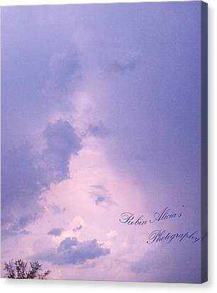 Looking To The Heavens Canvas Print - Looking Upon One Another by Robin Coaker