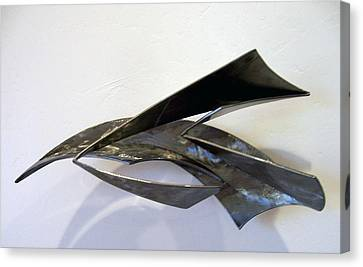 Loosing The Bag Of Aeolis Canvas Print by John Neumann
