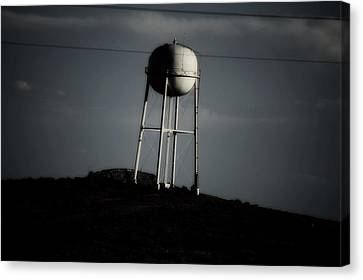 Canvas Print featuring the photograph Lopsided Tower by Jessica Shelton