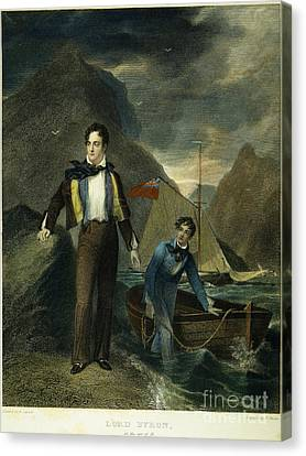Lord Byron Canvas Print by Granger