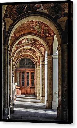 Portal Canvas Print - Loreto Walk by Joan Carroll