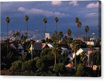 Los Angeles, California Canvas Print by Larry Brownstein