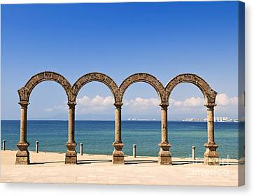 Los Arcos Amphitheater In Puerto Vallarta Canvas Print