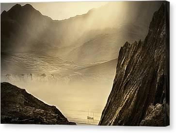 Lost Boat Canvas Print by Svetlana Sewell