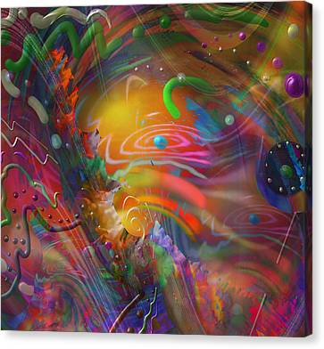 Deep Space Canvas Print - Lost In Time by Kevin Caudill