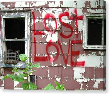 Lost Love Canvas Print by Todd Sherlock