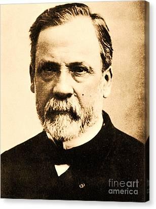 Louis Pasteur Canvas Print by Pg Reproductions