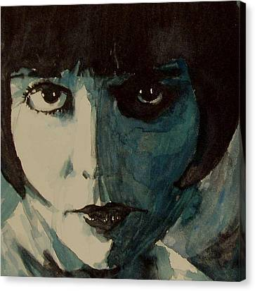 Brook Canvas Print - Louise Brooks by Paul Lovering