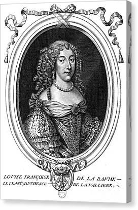 Louise De La Valliere Canvas Print by Granger