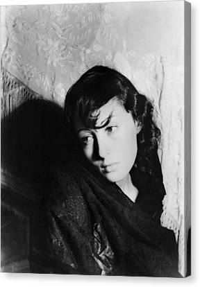 Louise Rainer (1910- ) Canvas Print by Granger