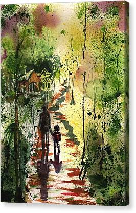 Louisiana Bayou Canvas Print by Sharon Mick