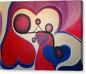 Love - To Have A Feeling Of Intense Desire And Attraction Toward. Canvas Print