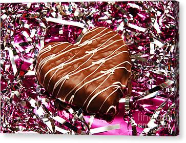 Love And All That Glitters Canvas Print by Andee Design