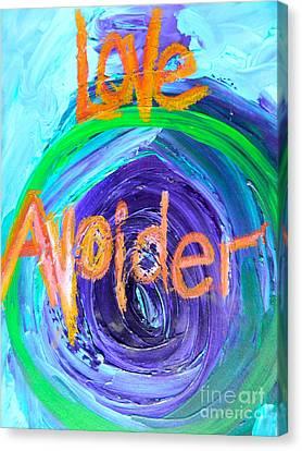 Love Avoider Canvas Print