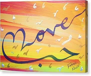 Love Canvas Print by Faraz Khan