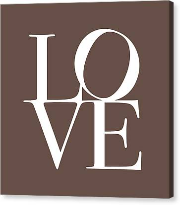 Love In Chocolate Canvas Print
