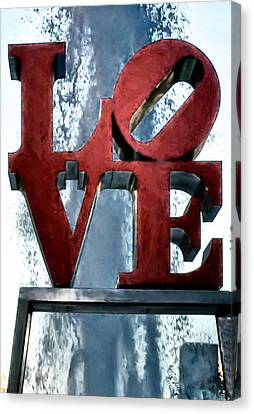 Love In The Afternoon Canvas Print by Bill Cannon