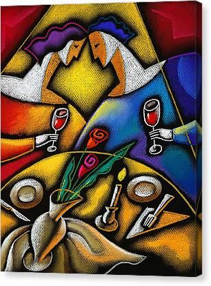 Love Canvas Print by Leon Zernitsky
