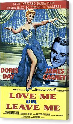 Love Me Or Leave Me, From Left Doris Canvas Print by Everett