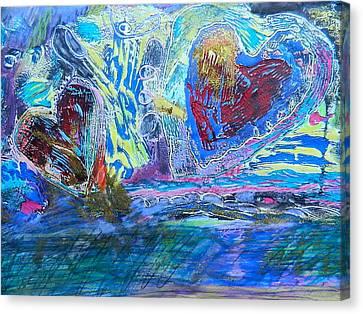 Love Sick Canvas Print