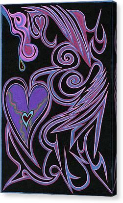 Love So Precious Canvas Print by Kenneth James